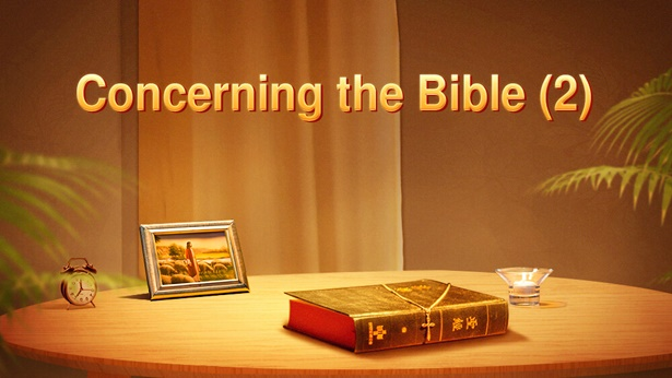 Concerning the Bible (2)