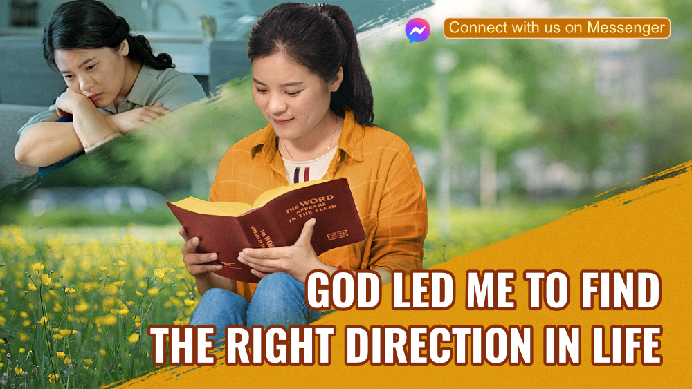 God Led Me to Find the Right Direction in Life