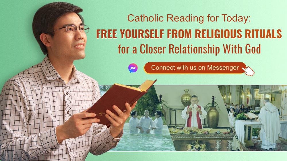 Catholic Reading for Today: Free Yourself From Religious Rituals for a Closer Relationship With God