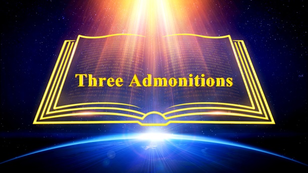 Three Admonitions