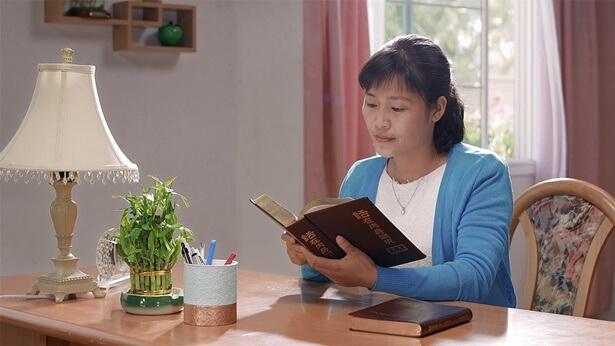 Christian Testimony, God's words gave her great faith