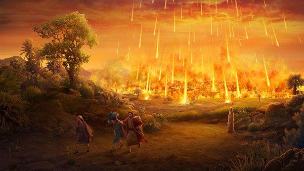 God's Destruction of Sodom