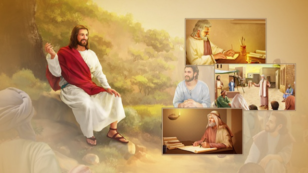 What is the difference between the words of God conveyed by prophets in the Age of Law and the words of God expressed by God incarnate?