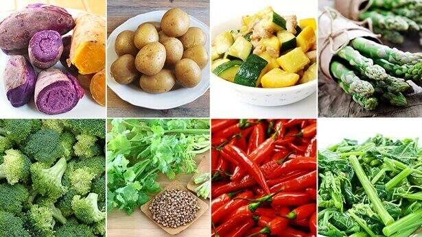 All Types of Vegetarian Foods God Prepares for Mankind